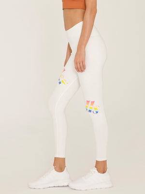 Pride in White Leggings