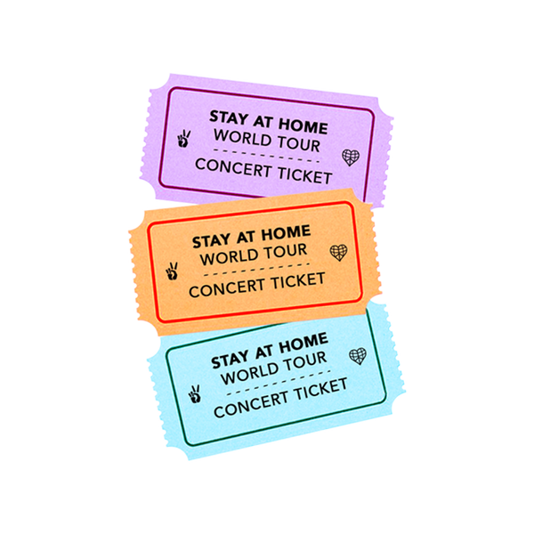 Stay At Home Fall 2020 Live Stream Ticket