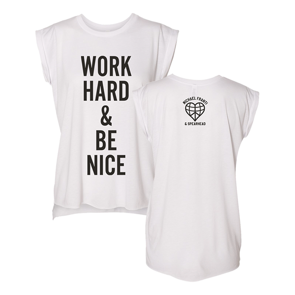 Be Nice Sleeveless Tee