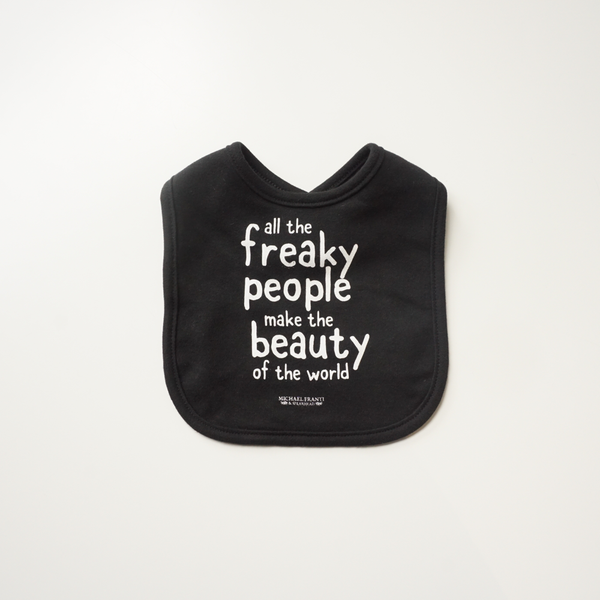 Freaky People Baby Bib