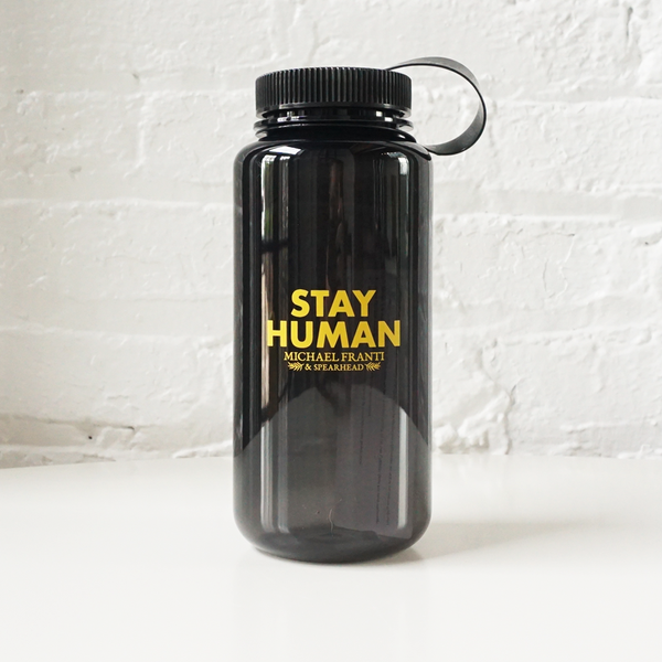 Stay Human Water Bottle