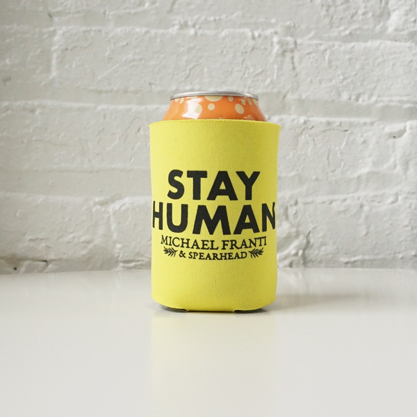 Stay Human Koozie