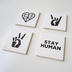 Ceramic Coaster Set