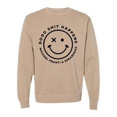 Good Shit Happens Crewneck