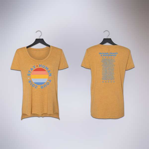 2019 Ladies Mustard Fall Tour Tee