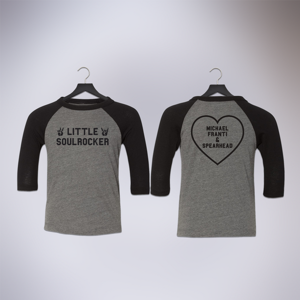 Little Soulrocker Baseball Tee