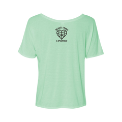Mint Work Hard Women's Tee
