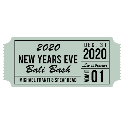 NYE Bash Commemorative Ticket + NYE Bali Bash Event ticket