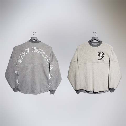 Reversible Stay Human Crewneck