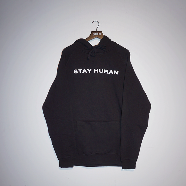 Stay Human Pullover Hoodie