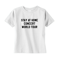 Stay At Home Concert Toddler Tee