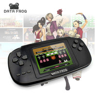 Data Frog Portable Handheld Game Players Gaming Consoles Built In 168