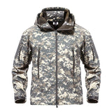 Army Camouflage Men Jacket Coat Military Tactical Jacket Winter cold weather