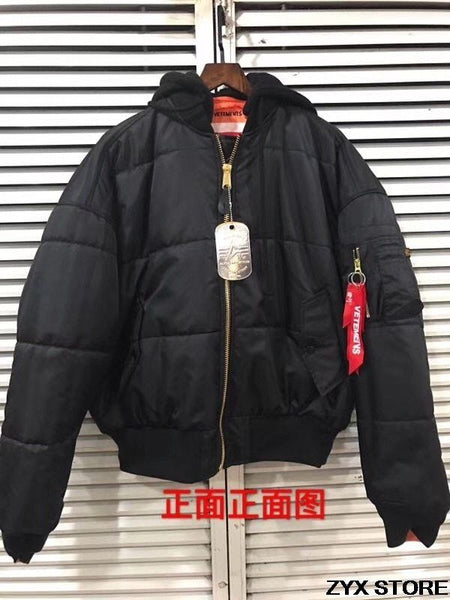 Best Version Vetements Women Men Ma1 Bomber Jackets jkt2