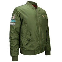 High Quality Ma1 Thick Winter Men Bomber Jacket Air Force One Hip Hop Patch