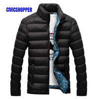 Winter Men Jacket 2018 Brand Casual Mens Jackets And Coats Thick fall snow ski