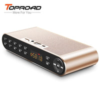 TOPROAD Wireless Altavoz Bluetooth Speaker Portable HIFI Dual Sounders 3D Receiver with Mic USB TF FM AUX  spe1