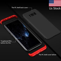 Full Protection Case For Samsung Galaxy S8 Case S8 Plus 360 Degree Screen Protector Cover Coque for Samsung Galaxy S8 Plus Case