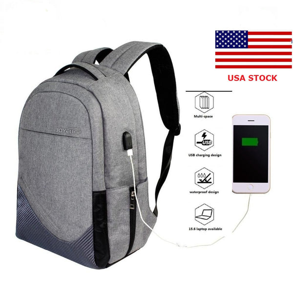 USA Anti-Theft Backpack Bag JINTU Lightweight Fashion Laptop Case Up to 15.6 Mens Woman Slim Backpacks for Laptop/Notebook/