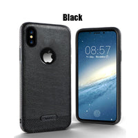 iPhone X 8 7 6 6S Plus Case TPU Leather Back cas1 Full Cover For iPhone X 8 6 6S 7 Plus Phone Cases cas1