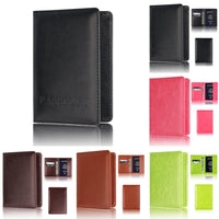 CONEED Passport Holder Protector Wallet Business Card Soft Passport Cover drop ship ap29f30xx