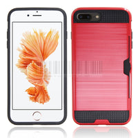 Phone Case For Apple iPhone 7 Plus 5.5 inch With Card Holder Shockproof Protective Cover cas1