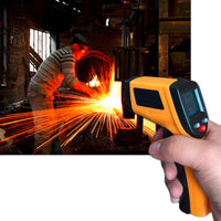 GM320 Laser LCD Digital IR Infrared Thermometer Temperature Meter Gun Point -50~380 Degree Non-Contact Thermometer Ship from USA