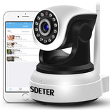 SDETER HD Wireless 1080P IP Camera WiFi Home Security Camera Surveillance Camera 720P Baby Monitor Night Vision CCTV Camera IP