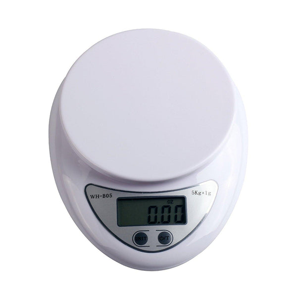 Adeeing 5kg 5000g 1g Digital LCD Kitchen Food Diet Weight Balance Weighing Scale ship from Russia
