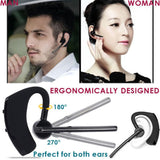 Nosie Cancelling Wireless Bluetooth 4.1 Earphone Sport Headset with Microphone Earhook Earbuds for iPhone Samsung Android Phone