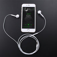 Headset In-Ear auriculares Wired Earphone Earbuds Sport Running Stereo fone de ouvido With Mic For Samsung Xiaomi iPhone Earpod