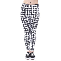 Women Fashion Legging Aztec Round Ombre Printing leggins Woman Pants