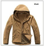 Lurker Shark Skin Softshell V5 Military Tactical Jacket Men Waterproof Coat Camouflage Hooded Army Camo Clothing  jkt1