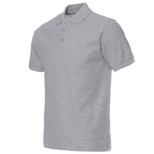Men Polo Shirt Brand Mens Solid Color Polo Shirts Camisa Masculina tsh1