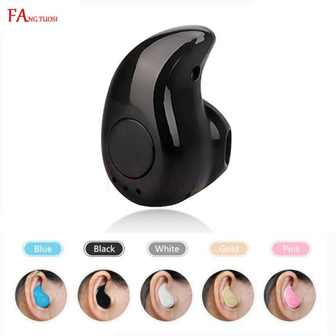 Mini Wireless Bluetooth Earphone in ear Sports with Mic Earbuds Handsfree Headset Earphones Earpiece acc1