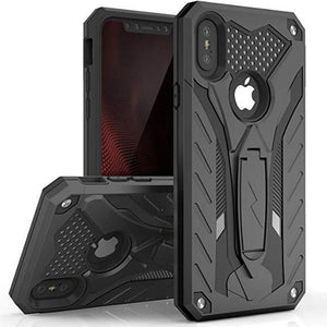 Case For iPhone 7 8 Shockproof Military Case For iPhone 6 6s Plus X 5 5s SE Kickstand TPU Cover Coque Shell cas1