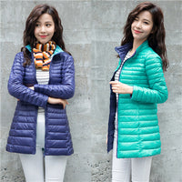 Women's down jacket Warm Coat jkt2