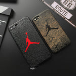 Jordan Soft silicon cover case for iphone 5 5S SE 6 6Plus S 7 7 plus 8 8Plus X XS XR MAX fly man phone cases cas1