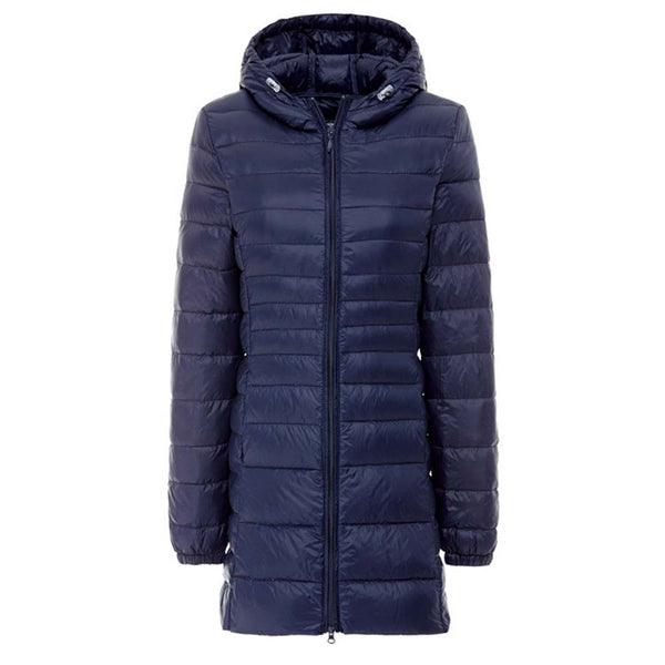 Fashion Winter Ultralight Hooded Jacket Puffer Parka Coat jkt2