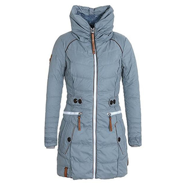 Women Hooded Coats Jacket Basic Top Women Plus Size Parkas Thick Outerwear Solid  jkt2