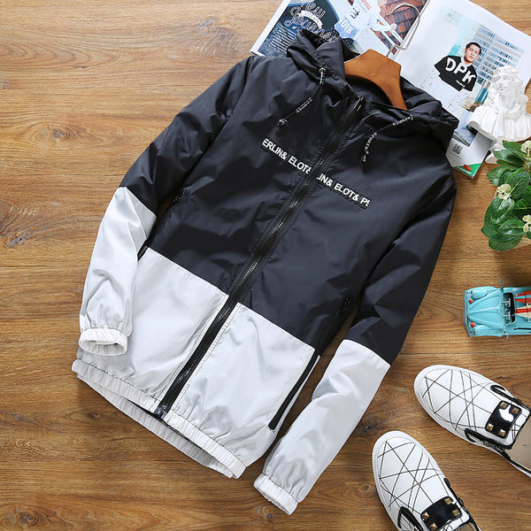 HCXY Jacket Men Summer Hooded Sunscreen Jackets Windbreaker Fashion  Brand Clothing Women Men  jkt1