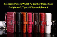 For iphone 7 7 plus 8 8plus iphone x Cases Luxury H clip Flip Wallet PU Leather Case Cover For iphone X 7 8 plus cas1
