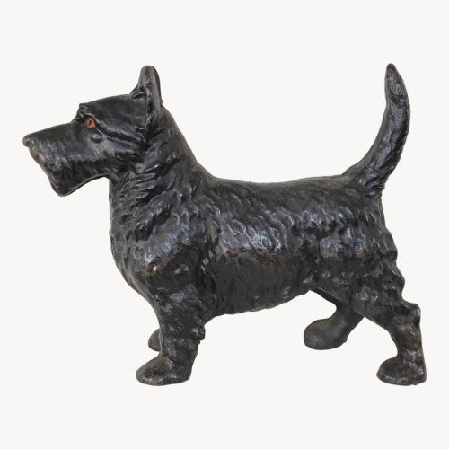 Black Scottie Dog Doorstop