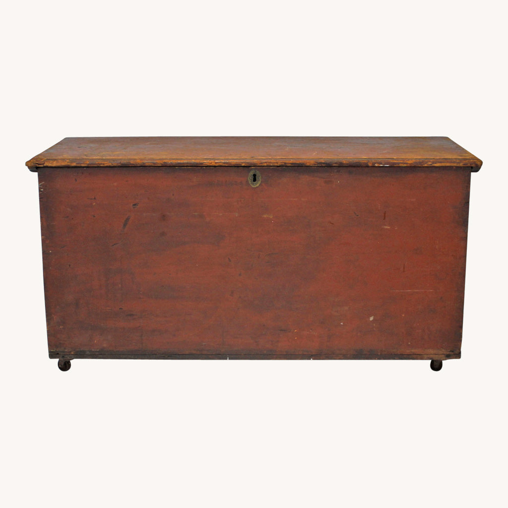 American Chest with Candle Box and Drawer
