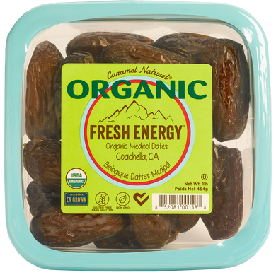 Case Organic 1 lb. Medjool Dates (12ct)