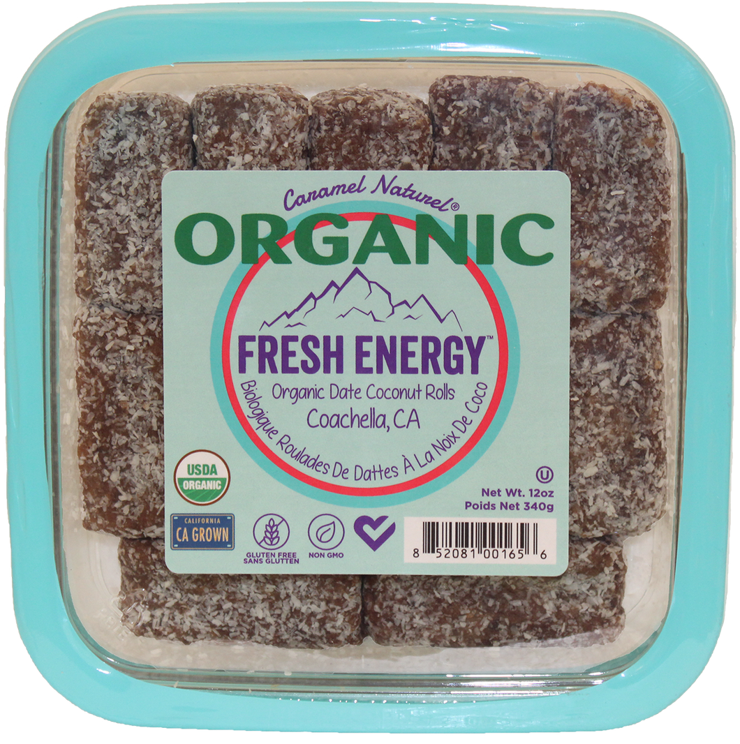 12 oz. Organic Date Coconut Roll (3ct)