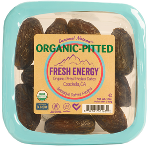 Case 12 oz. Organic Pitted Medjool Dates (12ct)