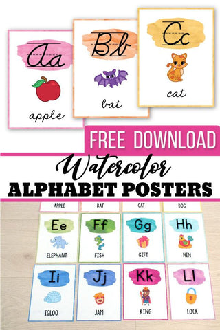 Alphabet printable activities for preschool and kindergarten. These pack of worksheets will make teaching and practice English uppercase and lowercase letters much easier. Your students will have so much fun coloring cute animals and alphabet pictures, tracing letters, practicing writing and more. The kids practice letter recognition and handwriting in a creative way. These pages are perfect for morning work, small groups, early finishers.