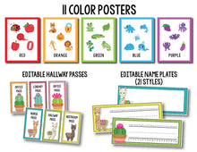 Load image into Gallery viewer, Llama Classroom Decor Bundle INSTANT DOWNLOAD