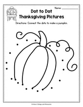 Load image into Gallery viewer, Thanksgiving Activities for Preschool